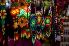 Huichol konst Royaltyfria Bilder