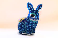 Huichol rabbit Royalty Free Stock Image