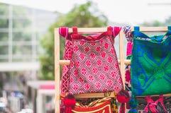 Huichol torby Obrazy Royalty Free
