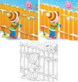 Huid-en-zoek vector illustratie