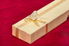 Huidige doos royalty-vrije stock afbeeldingen