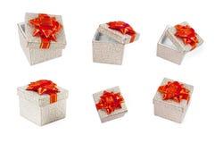 Huidige dozen Royalty-vrije Stock Fotografie