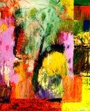 Huile abstraite image stock