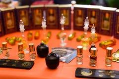 Huile aromatique indienne Photo libre de droits