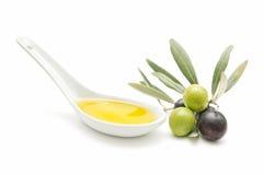 Huile d'olive Photos libres de droits