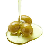 Huile d'olive image stock