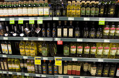Huile d'olive Photo stock
