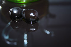 Huile d'olive Image libre de droits