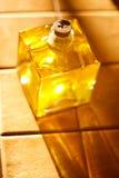 Huile d'olive au soleil Images libres de droits