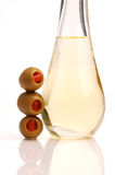 Huile d'olive (plan rapproché) Images libres de droits