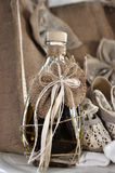 Huile d'olive pour le baptême grec Photo libre de droits