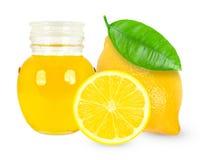 Huile de citron Photographie stock
