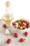 Huile de salade et de tournesol Image libre de droits