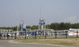 huile et industrie du gaz dans l'effet de traitement puissant images stock
