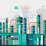 HUILE REFINERY-2 illustration de vecteur