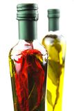 Huiles d'olive image stock