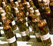 Huiles d'olive d'artisan Images libres de droits