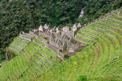Huinay Huayna an der Inka-Spur Lizenzfreie Stockbilder