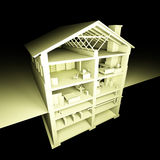 Huis. Stock Foto