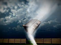 Huis 3 van de tornado stock afbeeldingen