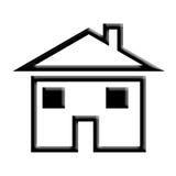 Huis. Royalty-vrije Stock Foto's