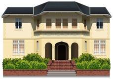 Huis royalty-vrije illustratie