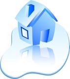 Huis. vector illustratie
