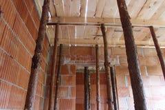 Huis in aanbouw Royalty-vrije Stock Foto's