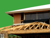 Huis in aanbouw Royalty-vrije Stock Afbeelding
