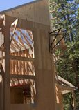Huis in aanbouw Stock Afbeeldingen
