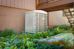 Huis airconditioning en het verwarmen eenheid Royalty-vrije Stock Afbeeldingen