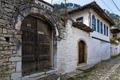 Huis in Albanië Royalty-vrije Stock Afbeelding