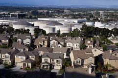 Huis & Industrie Stock Fotografie