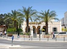 Huis Aref Al-Aref, de Britse gouverneur van Bier Sheva stock foto's