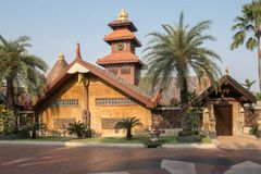 Huis in Bankok in Thailand Royalty-vrije Stock Fotografie