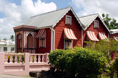 Huis in Barbados Stock Afbeelding