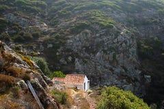 Huis in bergen Stock Foto
