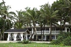 Huis bij het Hikkaduwa Strand, Sri Lanka Royalty-vrije Stock Fotografie