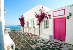 Huis bij kust royalty-vrije stock foto's