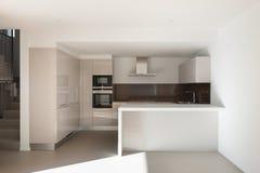 Huis, binnenlandse keuken royalty-vrije stock foto