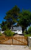Huis in Bretagne Stock Foto's