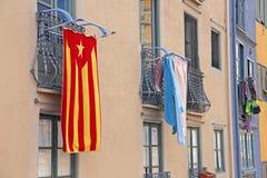 Huis in Catalonië Stock Afbeelding