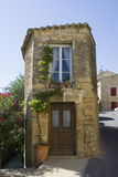 Huis in Chateauneuf du Pape Stock Fotografie