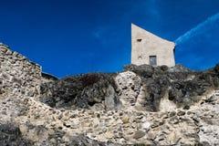 Huis in citadel Rupea Royalty-vrije Stock Foto's