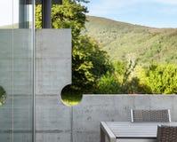 Huis concrete muur Royalty-vrije Stock Fotografie