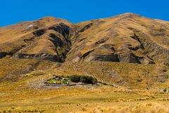 Huis in de Andes Royalty-vrije Stock Afbeelding
