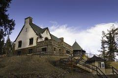Huis in de berg Royalty-vrije Stock Afbeelding