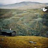 Huis in de bergen Royalty-vrije Stock Foto