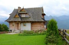 Huis in de bergen Royalty-vrije Stock Foto's