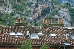 Huis in de bergen Royalty-vrije Stock Afbeelding